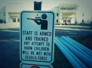 school is armed right