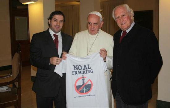Pope frack