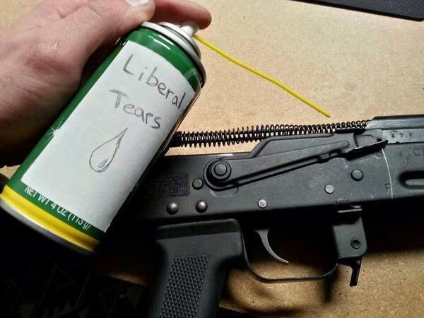 Liberal tears guns