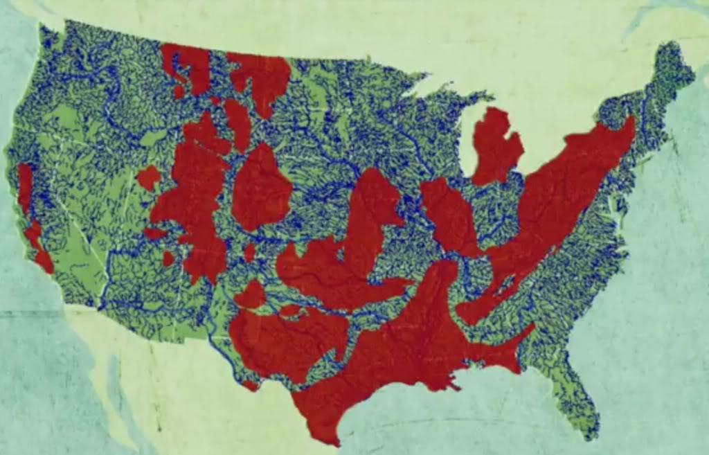 MapUS fracking