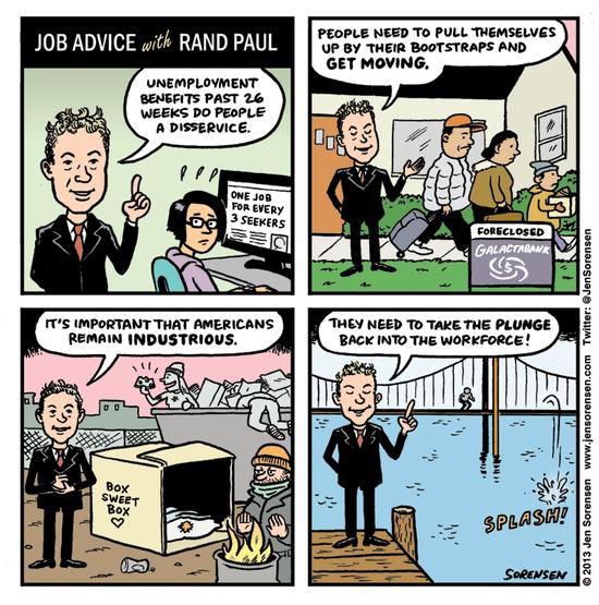 Paul's job advice