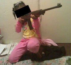 black kid gun