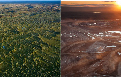 tar-sands-before-after Alberta