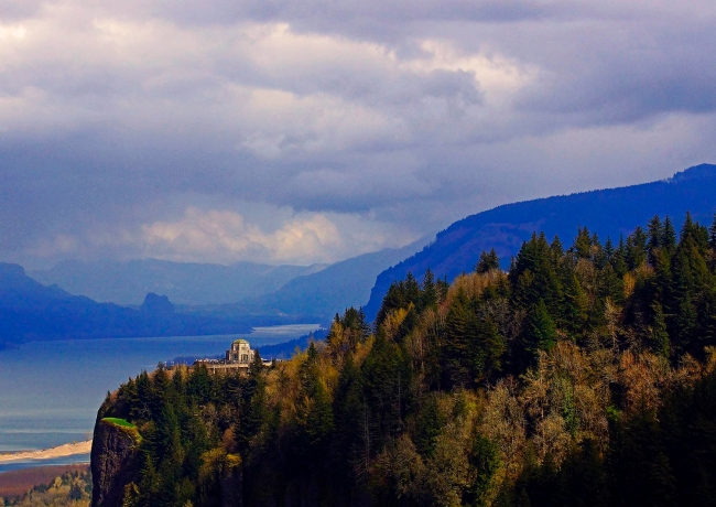 Crown Point at the Columbia Gorge