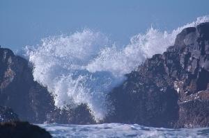 Waves at the Beach off Quail Street