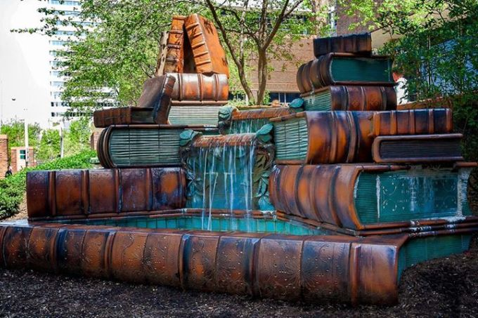 book fountain