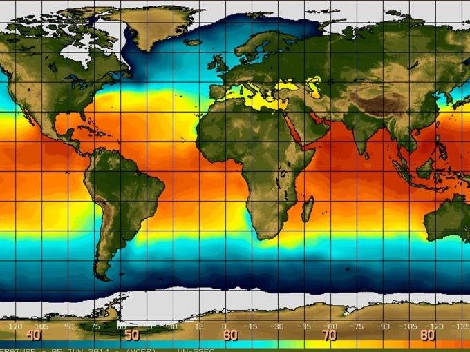 ocean temperature