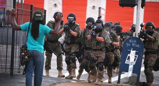 swat police girl in teal shirt