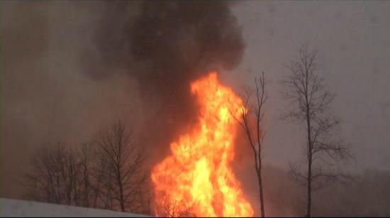 west virginia pipeline explodes