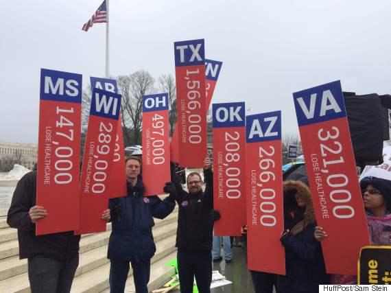ACA Protesters