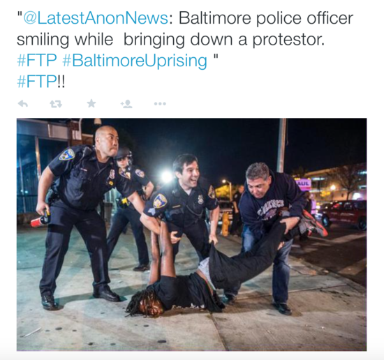 police smile