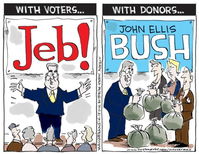 Jeb cartoon