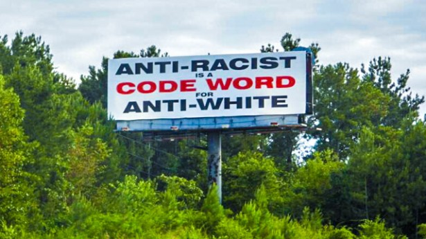 Racist billboard