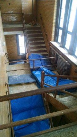 flint stairway