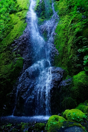 A. waterfall