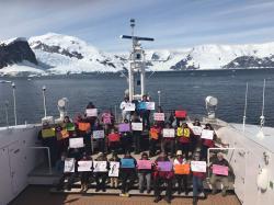 antarctica-protest