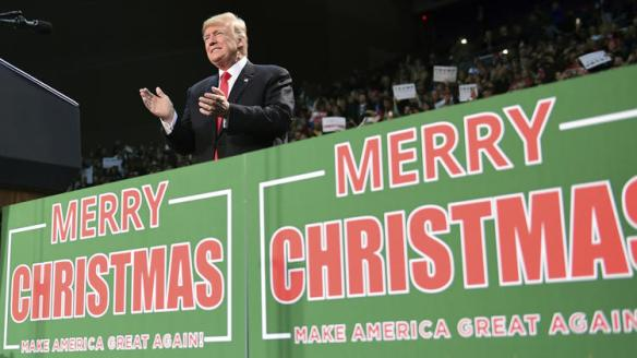 Gop Christmas Message.The Christian War On Christmas Nel S New Day